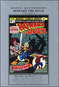 MARVEL MASTERWORKS HOWARD THE DUCK Volume 1 Hurt