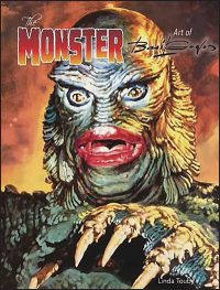 MONSTER ART OF BASIL GOGOS Hardcover Second Edition Creature Cover