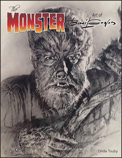 MONSTER ART OF BASIL GOGOS Hardcover Second Edition Wolfman Cover