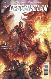 MYTHS & LEGENDS QUARTERLY Dragon Clan Vitorino Cover