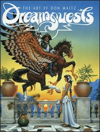 DREAMQUESTS The Art of Don Maitz Signed