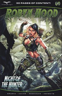 ROBYN HOOD Hunted Cover Barrionuevo and Nunes Cover
