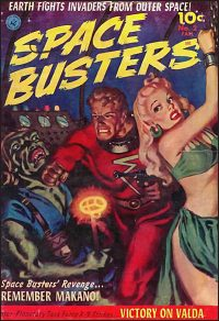 SPACE BUSTERS / BRAIN BOY Volume 1