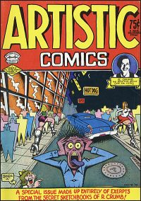 R. CRUMB'S ARTISTIC COMICS