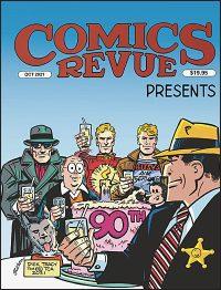 COMICS REVUE PRESENTS OCT 2021