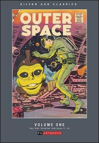 SILVER AGE CLASSICS: OUTER SPACE Volume 1 Hardcover Hurt