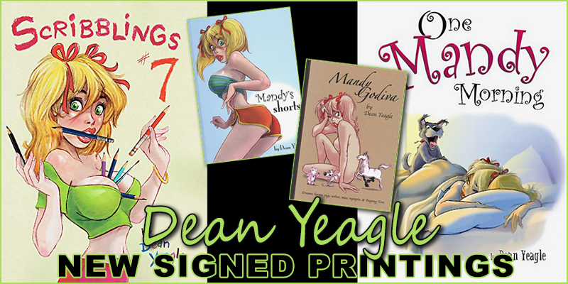New Printings of Dean Yeagle's Mandy series