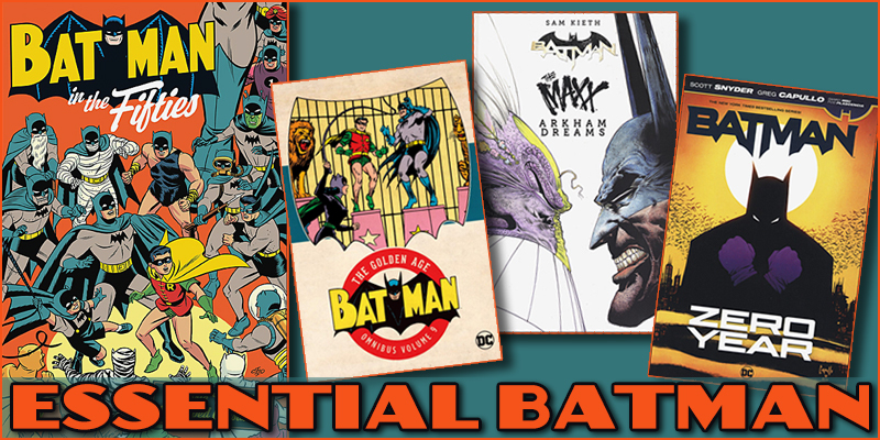 Batman Classic to Contemporary