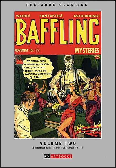 PRE-CODE CLASSICS: BAFFLING MYSTERIES Volume 2 Hurt
