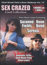 42ND STREET PETE'S Sex Crazed Coed Collection DVD