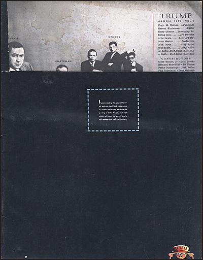TRUMP MAGAZINE #2 March 1957 Hurt