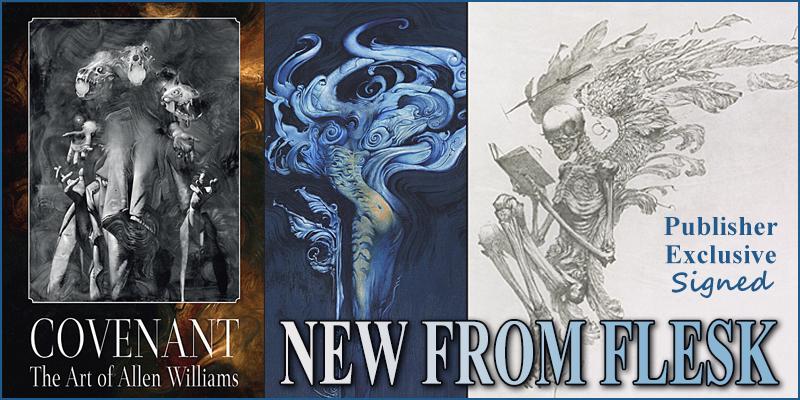 New from Flesk - Covenant The Art of Allen Williams